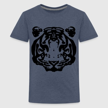 Tiger Stripes Tiger - Teenage Premium T-Shirt