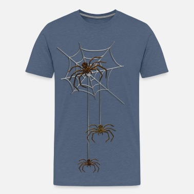 Spinnen Spider triple - Teenager Premium T-Shirt