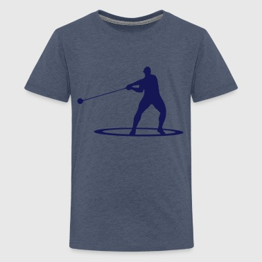 Hammer throw - Teenager premium T-shirt