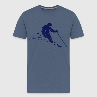 ski freerider - Teenager Premium T-Shirt