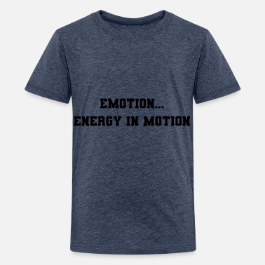 Emotie emotie - Teenager premium T-shirt