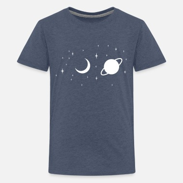 Space space - Teenage Premium T-Shirt