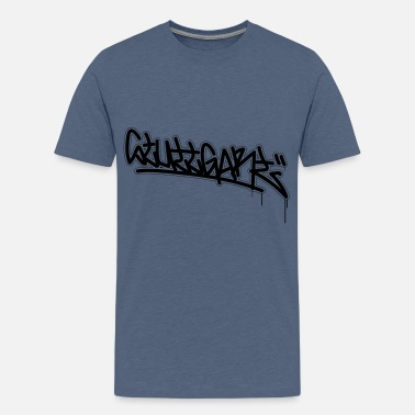 STUTTGART - Graffiti Style (all colors) - Teenage Premium T-Shirt