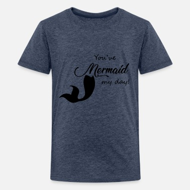 meerjungfrau kinder bio t-shirt | spreadshirt