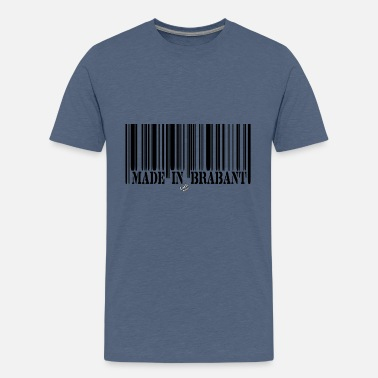 BARCODE Made in Brabant - T-shirt premium Ado