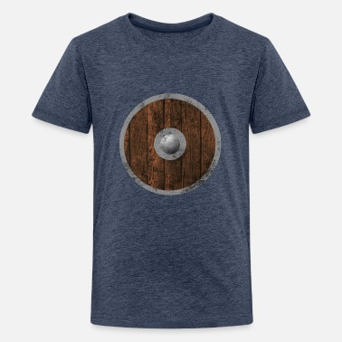 Holzschild Middle age wood sign - Teenage Premium T-Shirt