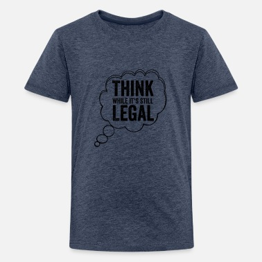 Politics Lifestyle-beleid Freedom Legal Gift - Teenager premium T-shirt