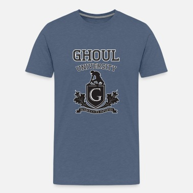 Gore Ghoul University For Halloween and Gore Fans - Teenage Premium T-Shirt
