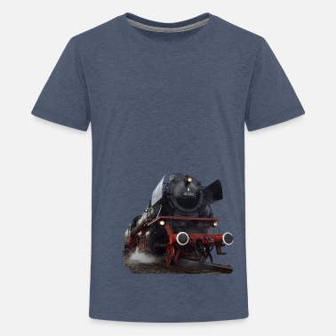 Dampflokomotive Dampflokomotive - Teenager Premium T-Shirt