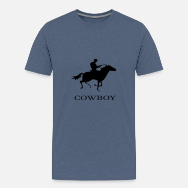 Cowboy cowboy - Teenage Premium T-Shirt