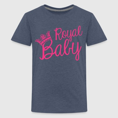Royal baby - Teenage Premium T-Shirt