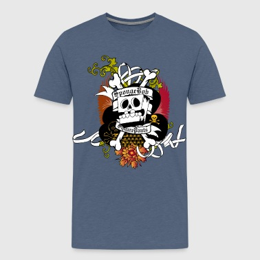 Teenagers' Premium Shirt SpongeBob Skeleton - Premium-T-shirt tonåring