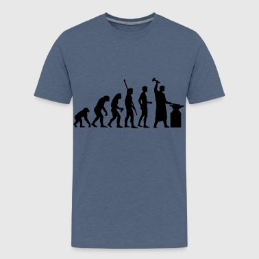 evolution_schmied_b - Teenage Premium T-Shirt