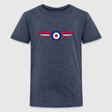 airforce - Teenage Premium T-Shirt
