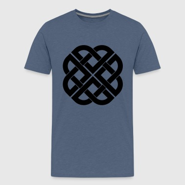 viking_knot_112011_c_1c - Teenager premium T-shirt
