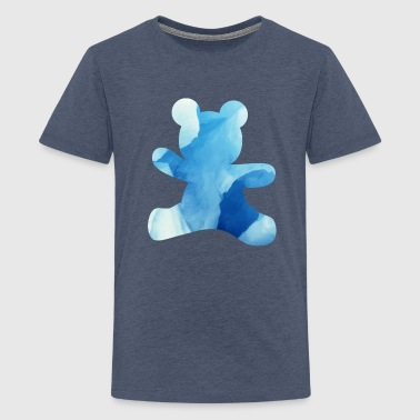 Polar Teddy bear - Teenage Premium T-Shirt
