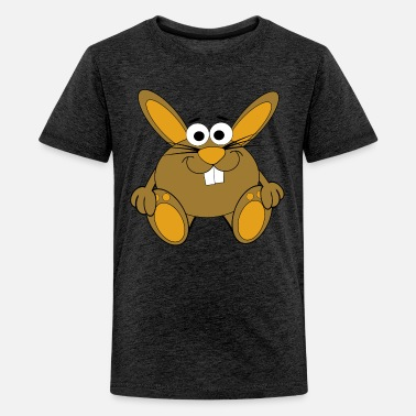 Hasen Comic Comic-Hase - Teenager Premium T-Shirt
