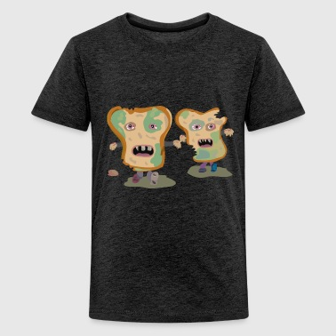 bread zombies - Teenager Premium T-shirt