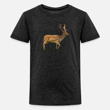 Cervi deer - Teenager premium T-shirt