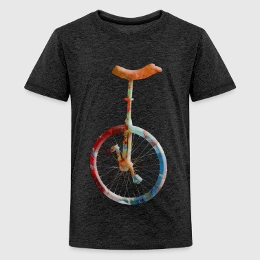 unicycle - Teenage Premium T-Shirt