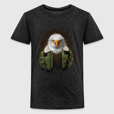Eagle Pilot - Teenager Premium T-Shirt