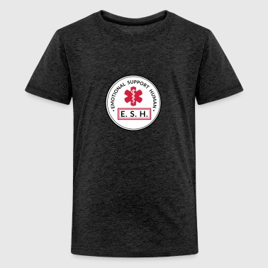 Emotional Support Human - Teenager Premium T-Shirt