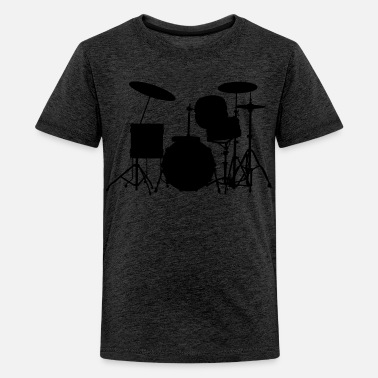 Batterie Enfant music drums drum set - T-shirt Premium Ado