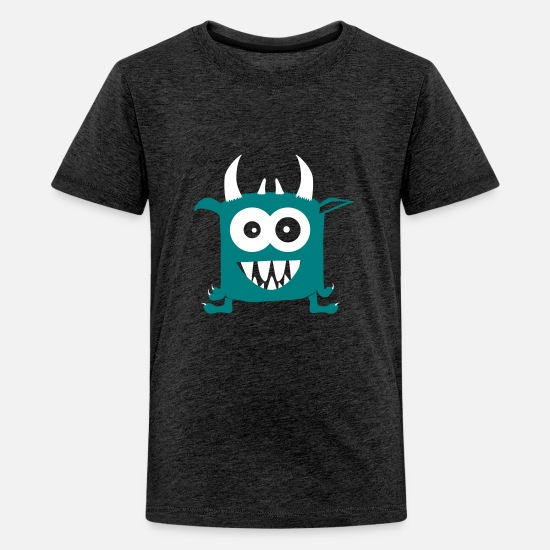 Monsterfriends T-shirts - Monsterfriends, Tony - Premium T-shirt teenager charcoal