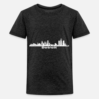 Detroit Detroit - Teenager Premium T-Shirt