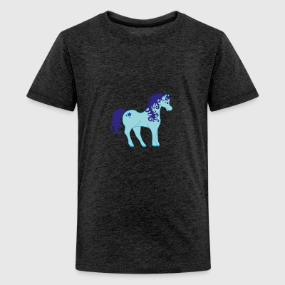 Unicorn uden et horn) - Teenager premium T-shirt