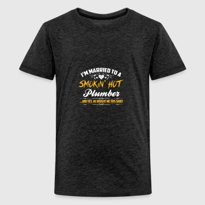 plumber - Teenage Premium T-Shirt