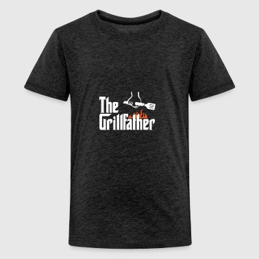 den Grillfather - Teenager premium T-shirt