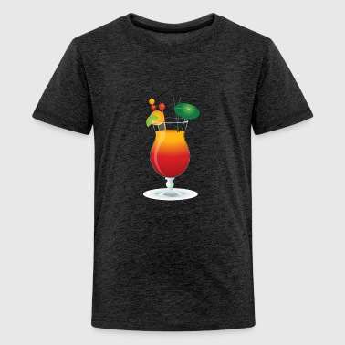 Summer Cocktail Time! - Camiseta premium adolescente