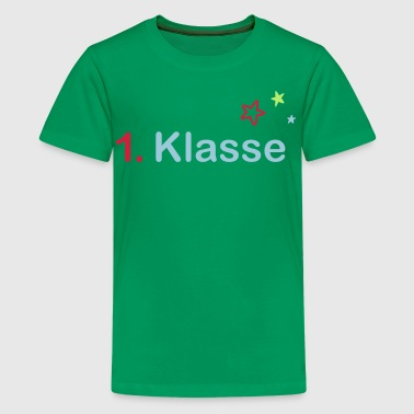 1.Klasse - Teenager Premium T-Shirt