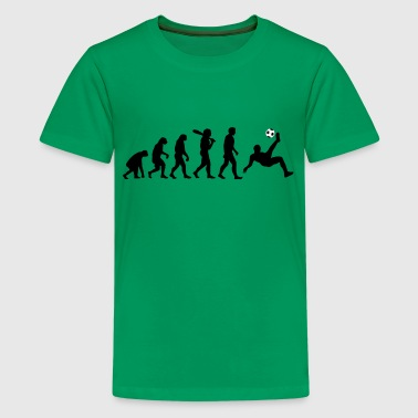 Evolution Fussball - Teenager Premium T-Shirt