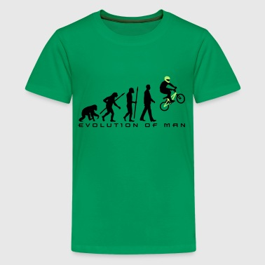 evolution_bmx_jump_a_2c - Teenager Premium T-Shirt