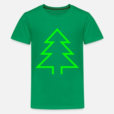 Christmas Tree - Camiseta premium adolescente