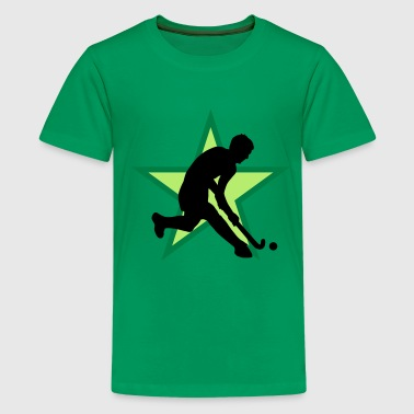 herrenhockey_b_3c - Teenager Premium T-Shirt
