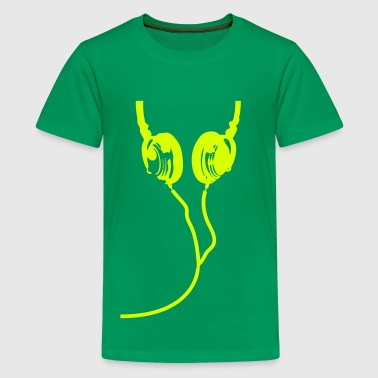 Coole Coole Headphones - Teenager Premium T-Shirt