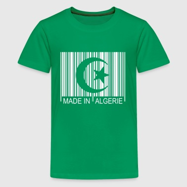 Code barre Made in ALGERIE 1c - Teenage Premium T-Shirt