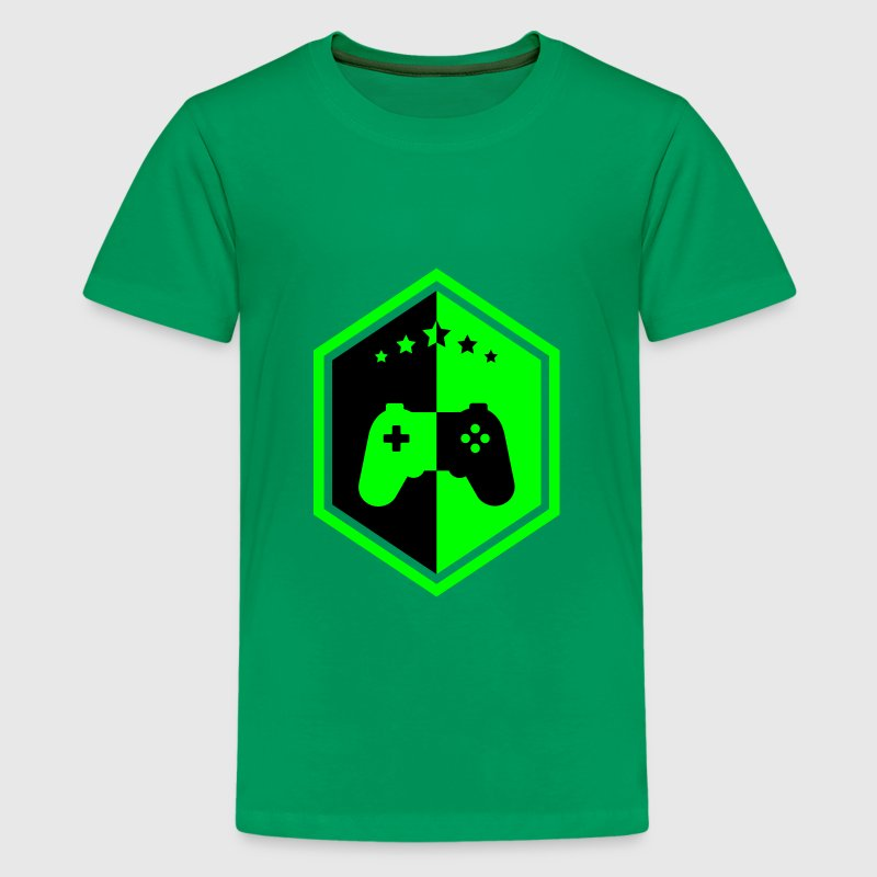 Gamer / Gaming - Teenager premium T-shirt