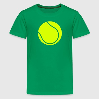 Tennisball Tennis - Teenager Premium T-Shirt