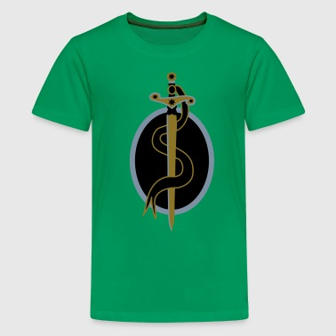 sword shield fantasy - Teenager Premium T-Shirt