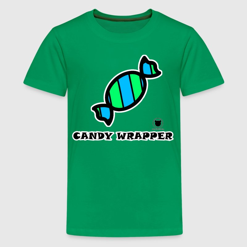 CANDY WRAPPER - Teenage Premium T-Shirt