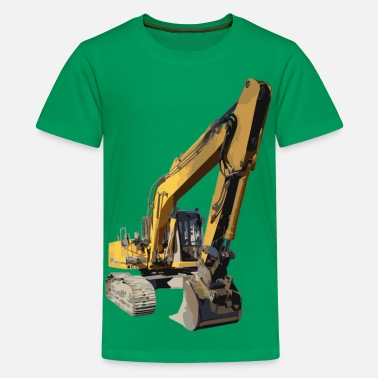 Volvo graafmachine - Teenager Premium T-shirt