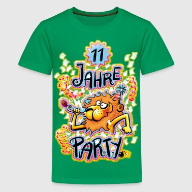 11 Jahre Party - Teenager Premium T-Shirt
