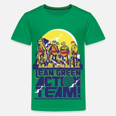 TMNT Turtles Lean Green Action Team - Teenager Premium T-shirt