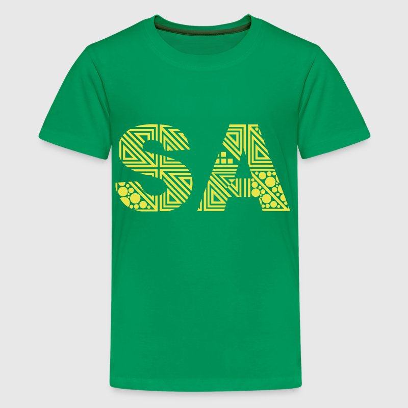 South Africa - Saturday - SA - Teenage Premium T-Shirt