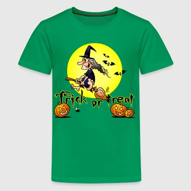 Halloween, Trick or treat - Camiseta premium adolescente