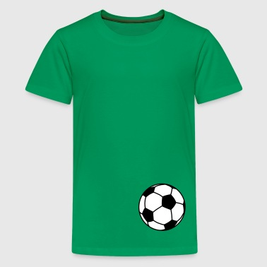 Boll football / ball 2c - T-shirt Premium Ado